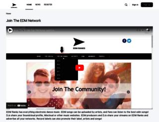 edmranks.com screenshot
