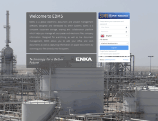 edms.enka.com screenshot