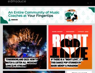 edmsauce.com screenshot