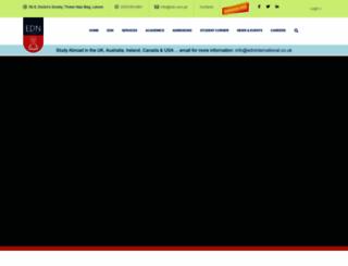 edn.com.pk screenshot