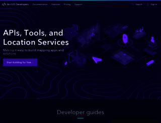 edn.esri.com screenshot