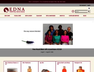 ednaskincare.com screenshot
