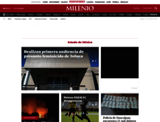 edomex.milenio.com screenshot