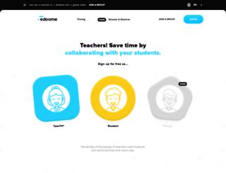 edoome.com screenshot