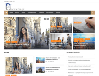edoor.edu.pl screenshot