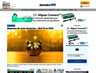 edp-dentaire.fr screenshot