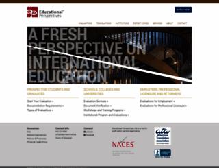 edperspective.org screenshot