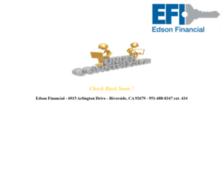 edsonfinancial.com screenshot