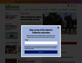 edsource.org screenshot