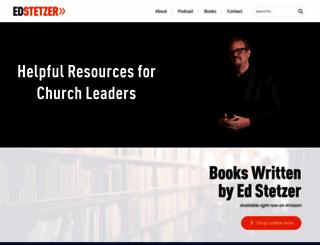 edstetzer.com screenshot