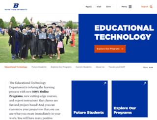 edtech.boisestate.edu screenshot