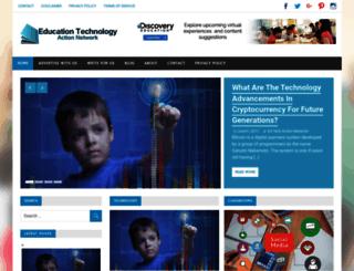 edtechactionnetwork.org screenshot