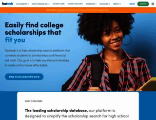 edu.fastweb.com screenshot