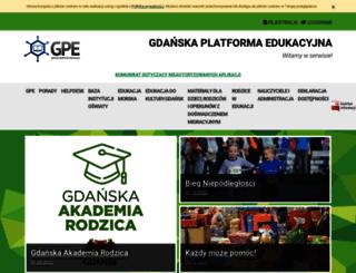 edu.gdansk.pl screenshot