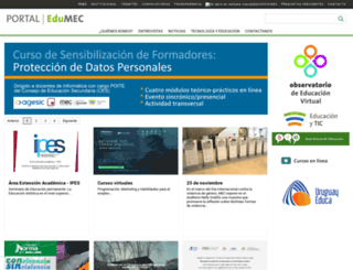 edu.mec.gub.uy screenshot