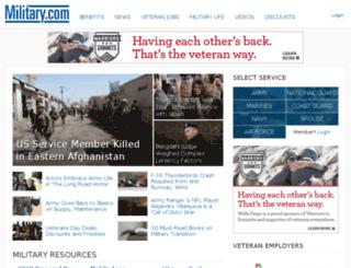 edu.military.com screenshot