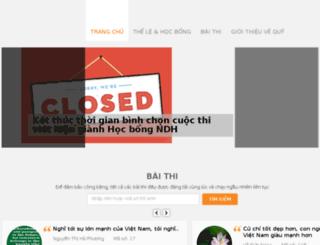 edu.ndh.vn screenshot