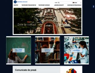 edu.ro screenshot