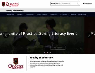 educ.queensu.ca screenshot