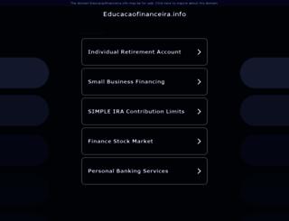 educacaofinanceira.info screenshot