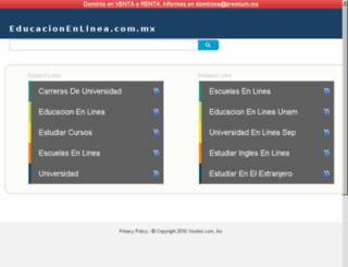 educacionenlinea.com.mx screenshot