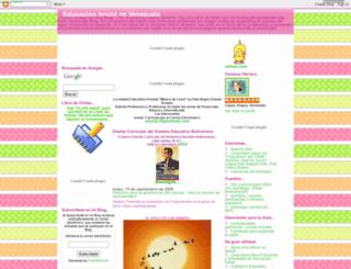educacioninicialenvenezuela.blogspot.com screenshot