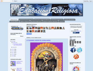 educacionreligiosaperu.blogspot.com screenshot