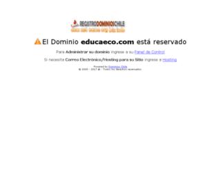 educaeco.com screenshot