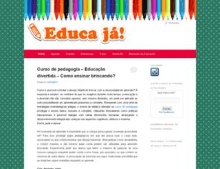 educaja.com.br screenshot