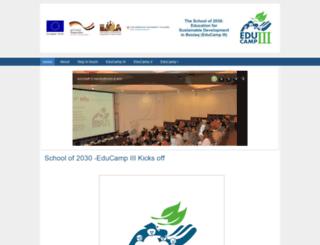 educamp.eu screenshot