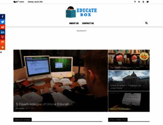 educatebox.com screenshot