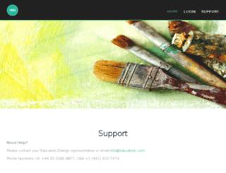 educatedapp.com screenshot