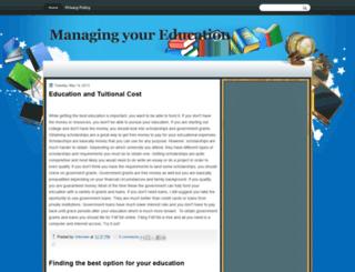 educatedmanagement.blogspot.com screenshot