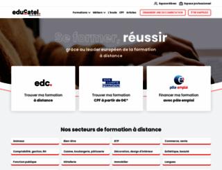 educatel.fr screenshot