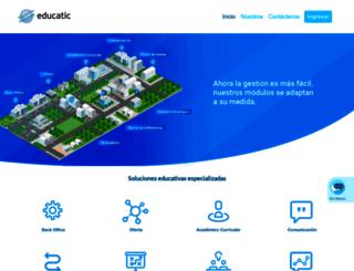 educatic.com.co screenshot