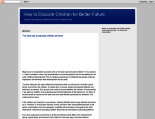 educatingchildren-for.blogspot.com screenshot
