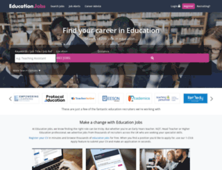 education-jobs.co.uk screenshot