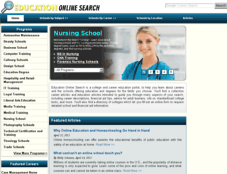 education-online-search.com screenshot