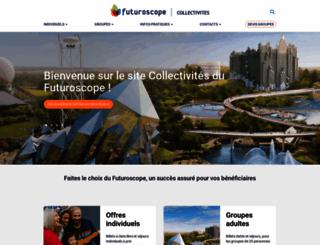 education.futuroscope.com screenshot