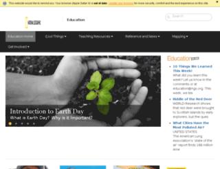 education.nationalgeographic.co.uk screenshot