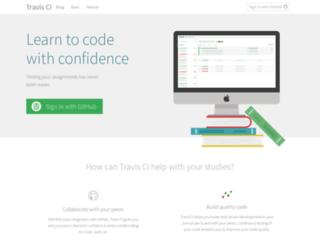 education.travis-ci.com screenshot
