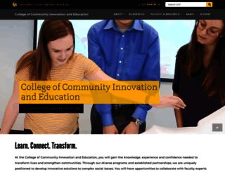 education.ucf.edu screenshot