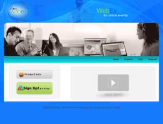 education.webexcms.com screenshot
