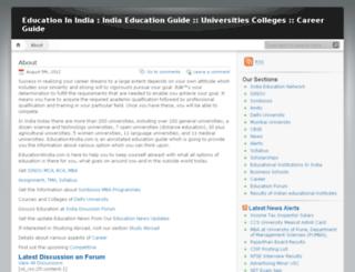 education4india.com screenshot
