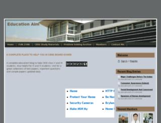educationaim.webs.com screenshot