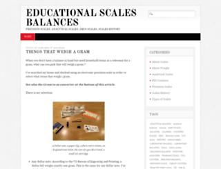 educational-scales-balances.com screenshot