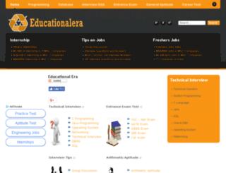 educationalera.com screenshot