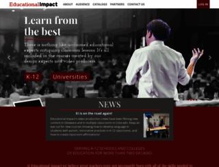 educationalimpact.com screenshot
