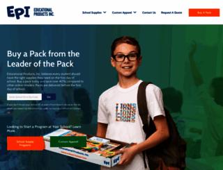 educationalproducts.com screenshot