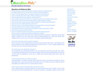 educationask.com screenshot